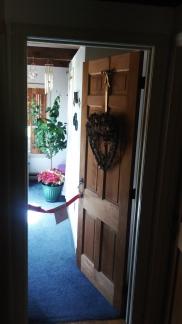 ribbon, office door
